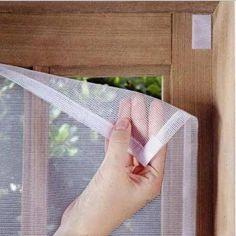 Foto 1 - Tela Mosquiteiro Para Portas E Janelas Com Velcro 1x1,50m #WindowTreatmentsforLargeWindows
