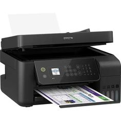 Impressora Epson Multifuncional Ecotank L5190 - Magazine Compumais Wi Fi, Windows 10, Usb, Color Cian, Epson Ecotank, 8 Bits, Photo Print, Ms Gs, Phone