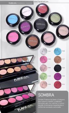 Quintetos de sombras! makeup!! flavia leal!!..