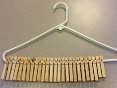 Adventures in Tutoring and Special Education: Clothespins on Hangers