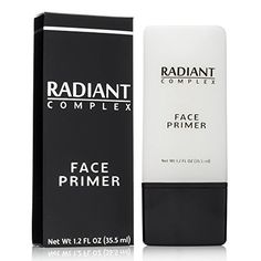 Radiant Complex Face Primer  Flawless Base for Foundation and Makeup 12 Fl Oz ** Want to know more, click on the image. (Note:Amazon affiliate link)