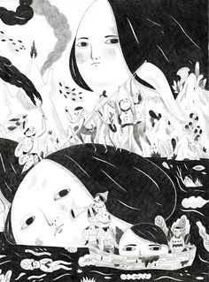 Taiwanese illustrator Inca pan