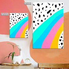 Somewhere Over the Rainbow Canvas Kids Wall Art