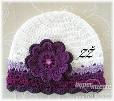 This Pin was discovered by Mar Débardeurs Au Crochet, Crochet Cowl Free Pattern, Crochet Baby Hat Patterns, Baby Girl Crochet, Crochet Baby Clothes, Crochet Baby Hats, Crochet Crafts, Baby Knitting, Crochet Projects