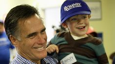 Can't you tell Mitt's had a few children and grandchildren….