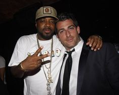 Jermaine Dupri and Mark Birnbaum