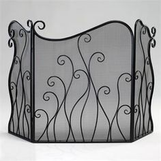 Check out the Cyan Design 02558 Evalie Fire Screen in Bronze priced at $180.00 at Homeclick.com.