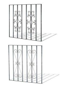 Protecciones para ventanas » HIERRO FORJADO