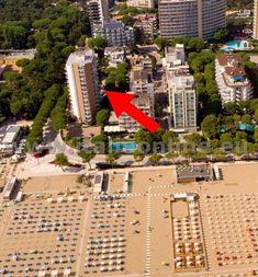 Itálie, Lignano Sabbiadoro, Residence Bianco Nero. Letní dovolená, pobyty u moře, ubytování v apartmánech.