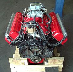 "Mopar Hemi-Head ""A"" - - barrel Carburetor Intake. Known as the ""Baby Hemi"". NICELY Restored, I have to say! Hemi Engine, Motor Engine, Car Engine, Small Diesel Generator, Plymouth Cars, Daimler Ag, Performance Engines, Drag Racing, Automobile"