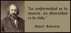 El tan temido Bakunin de cuando éramos pequeños