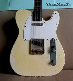 A Revelator RetroSonic build loosely inspired by Robben Ford's Vintage 1960 Fender Telecaster