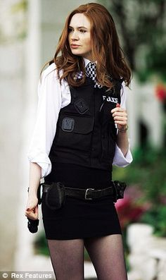 Love it darling police outfit and appropriate for me an just for Shawna. 2014/15 Christmas Play