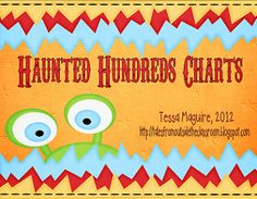 FREE Haunted Hundreds Charts