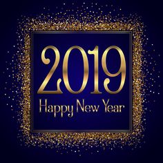 Glittery Happy New Year background Free Vector Happy New Year Wishes, Happy New Year 2019, New Year Wallpaper, Christmas Wallpaper, Happy New Year Background, New Year Images, New Year 2017, Perfect Word, Picture Photo
