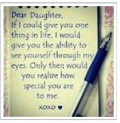 dear daughter love quotes family cute quote heart family quote family quotes letter xoxo pen I love my girls! A and Z love mom xoxo Mother Daughter Quotes, I Love My Daughter, My Beautiful Daughter, Mother Quotes, Daughter Sayings, Three Daughters, Future Daughter, Husband Quotes, Boyfriend Quotes