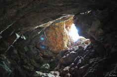 Poço Azul, Mucugê, Bahia, Brazil- Chapada Diamantina. Beautiful cave in Brazil