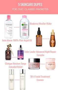 5 amazing skin care dupes for classic cult favorites A must-have for many professional makeup artists, Bioderma Sensibio is a non-detergent, non-foaming micellar water with neutral pH that is perfect for removing makeup even on the most sensitive skin. Skincare Dupes, Beauty Dupes, Beauty Skin, Beauty Hacks, Diy Beauty, Homemade Beauty, Beauty Guide, Face Beauty, Beauty Ideas
