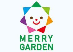 「MERRY GARDEN」誕生!!! | MERRY NEWS(世界中からのメリーなニュース) | メリープロジェクト公式サイト Kids Branding, Logo Branding, Branding Design, Logo Design, Logos, Kindergarten Logo, 10 Logo, Typo Logo, Typographie Logo