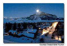 Skiing in Crested Butte, Colorado