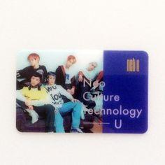 [Hot] SM Entertainment NCT U Fan Cafe Goods : NCT U Transparent Card 15