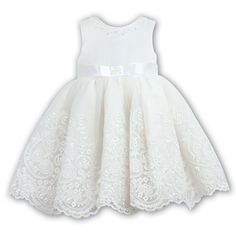 Sarah Louise Ceremonial Ballerina Length Dress 70017