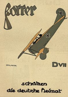 Fokker - Protect the German home. WWI.