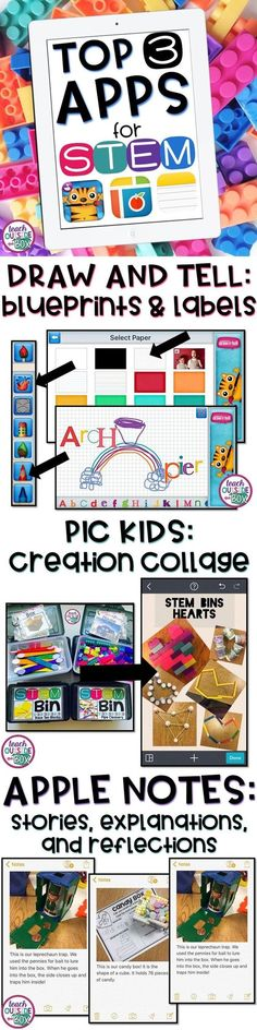 My Top 3 FREE Apps to integrate with STEM Challenges in your Elementary classroom