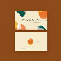 More applications are rolling in every day!😍🙌 Loving this for Byron-based company Peach & Pip from Perth designer Cheneeta… Print Packaging, Packaging Design, Branding Design, Design Logos, Identity Branding, Corporate Identity, Business Card Design Inspiration, Business Design, Id Card Design