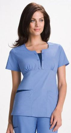 Those kind of nurse scrubs are cool. Spa Uniform, Scrubs Uniform, Healthcare Uniforms, Medical Uniforms, Stylish Scrubs, Lab Coats, Medical Scrubs, Nurse Scrubs, Work Uniforms