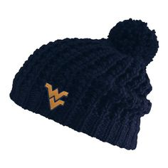 2eef9895da6 Stay warm and cozy with the new WVU Jamie Chunky Knit hat. You ll