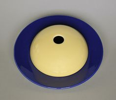 California pottery Gladding McBean 1930s El Patio plate with toastcover