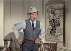 Walt as a cowboy 2 (this is a gif, click to play). From the Disneyland TV show episode on the Golden Horseshoe Revue.
