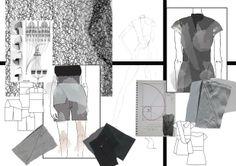 Fashion Portfolio - fashion design development with sketchbook work, illustration & sampling // Johanna Regardh