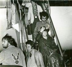 1977 2 13 à l'aéroport international de Palm Beach à 04h30