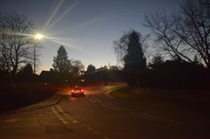 Ashover Road at Night. Celestial, Sunset, The Originals, Night, Photography, Outdoor, Sunsets, Outdoors, Photograph