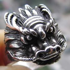 Chinese Men Rings | regional jewelry chinese totem dragon lucky unisex mens ring size