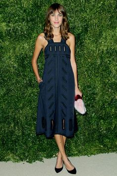 Alexa's dress is by Stella McCartney and was on the spring/summer 2015 catwalk...x