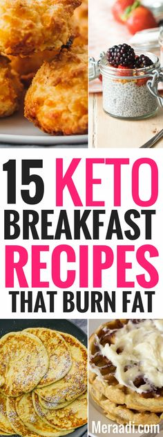 These amazing ketogenic breakfast recipes are THE BEST! I'm so glad I found these AWESOME keto breakfast recipes that are so easy to make and can help me lose weight! Definitely saving this for later! #keto #ketorecipes #ketogenic #ketogenicdiet #lchf #breakfast #breakfastrecipes