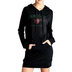 Women Jameson Whiskey Logo Long Hoodie Sweatshirt *** Read more  at the image link. (This is an Amazon affiliate link and I receive a commission for the sales and I receive a commission for the sales)