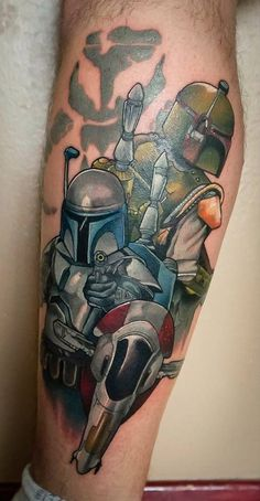 Star Wars Inspired Tattoos: Jango and Boba Fett