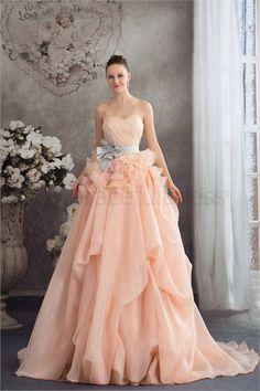 http://www.GracefulDress.com/Amazing-Handmade-Flower-s-Sleeveless-Satin-Organza-Prom-Dress-p19228.html