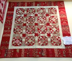 Sale Rouenneries Deux French General Quilt Kit by SunValleyFabric