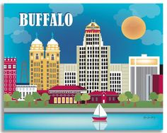 Our Buffalo gallery wrapped canvas and posters make office and nursery wall art. Interior designers have wide selection of prints. Cleared for set designers.