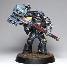 Miniaturas Warhammer 40k, Deathwatch, Warhammer 40k Miniatures, Space Marine, Marines, Sick, Gaming, Models, Art