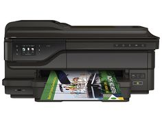 ♔ HP ALL IN ONE OFFICEJET 7612 IN CRAFT STUDIO.  WIRELESS COLOR PHOTO PRINTER WITH SCANNER, COPIER AND FAX.