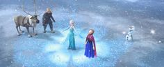 """""""The Story of Frozen: Making a Disney Animated Classic"""" is an all-new, original special in a first-of-its-kind collaboration with Lincoln Square Productions and Walt Disney Animation Studios."""