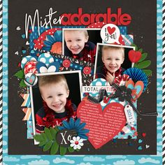 Used the following from the Sweet Shoppe: Template: Half Pack 168 by Cindy Schneider Ladies Man - KCB and Shawna Clingerman Tag - Digilicious Designs
