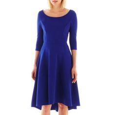 S.H.E. Long-Sleeve Dress  found at @JCPenney