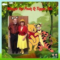 Winnie the Pooh & Tigger Disneybound